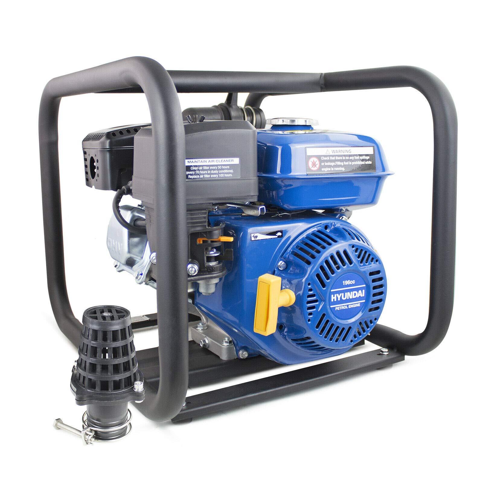 Hyundai HYC50 2 inch (50 mm) Professional Petrol Chemical Water Pump
