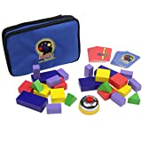 Blocks Rock! A STEM Toy and Educational Game of Competitive Block Building for Ages 4+