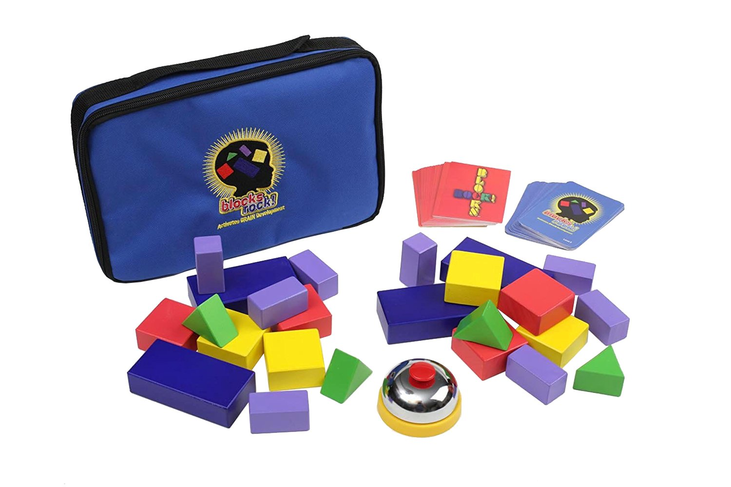Blocks Rock A STEM Toy and Educational Game for Competitive Structured Block Play Ages 4