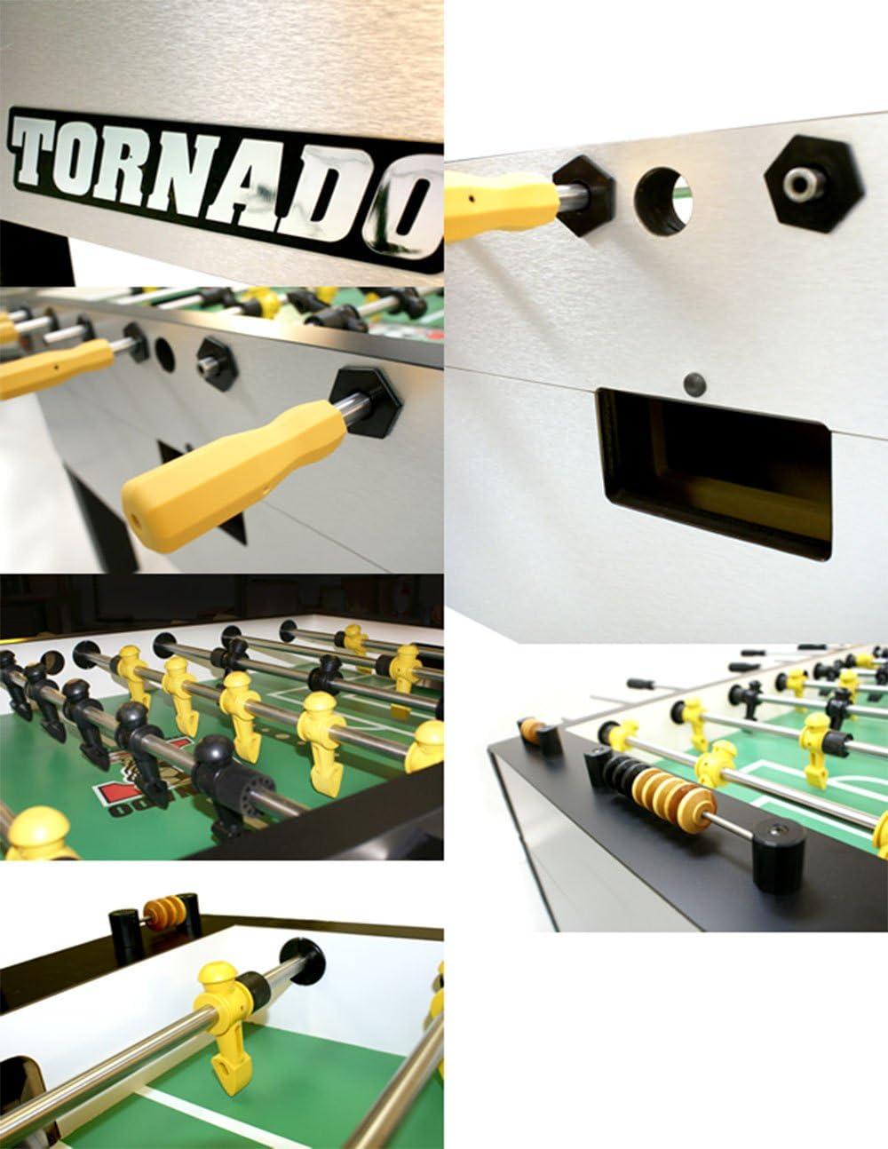 Tornado T-3000 monedas futbolín único de portero: Amazon.es ...