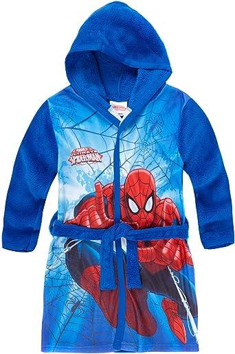 Fille Marvel Spiderman Original Peignoir De Bain En Polaire A Motif Corail 2 8 Ans Vetements Hotelaomori Co Jp