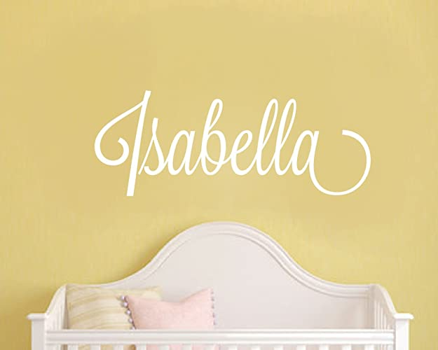 Baby girl nursery wall stickers personalised name wall stickers girls name wall stickers