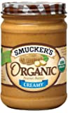 Smucker's  Organic Creamy Peanut Butter, 16-Ounce (Pack of 4)