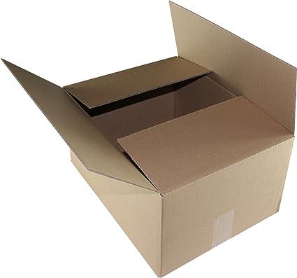 Caja de cartón de 500 x 400 x 400 mm 1.04 C onda caja de mudanza ...