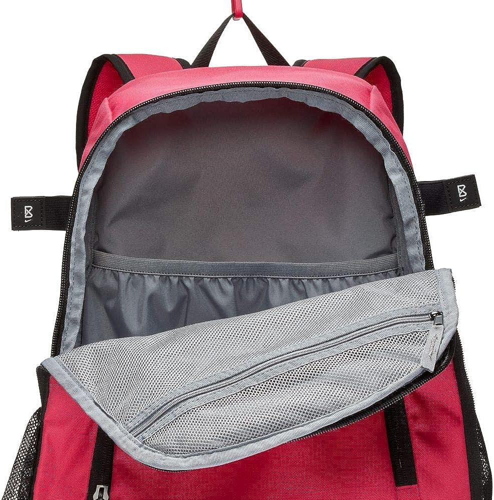 Nike Kids Vapor Clutch Bat Baseball Backpack Rush Pink Black White One Size