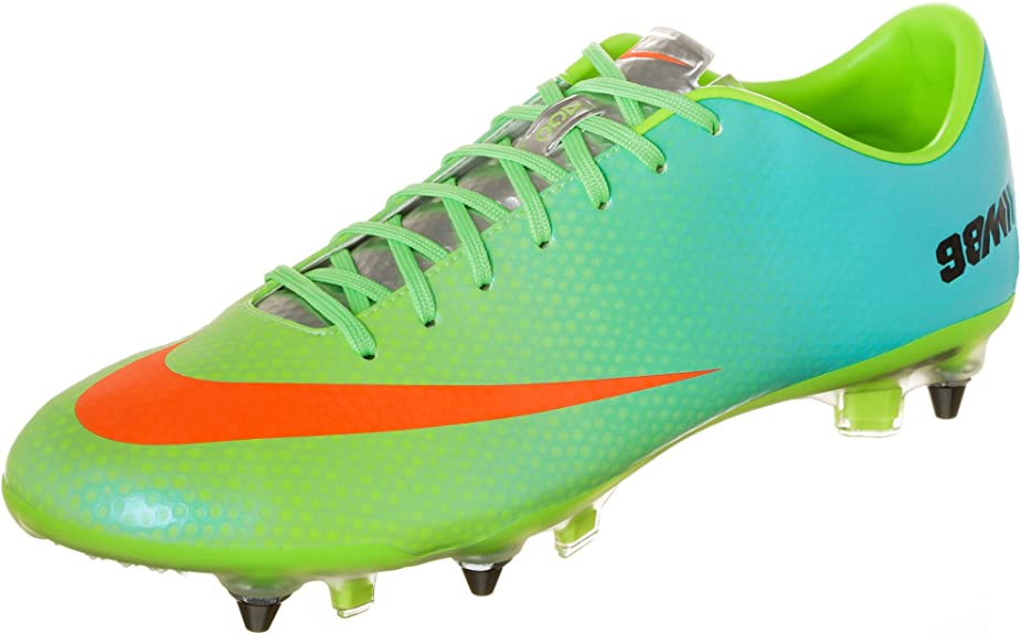 Amazon.com: Nike Mercurial Vapor IX SG Pro – Neo Cal/metall ...