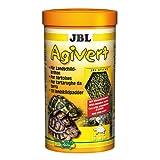 JBL 70333 Hauptfutter für Landschildkröten von 10 - 50 cm, Sticks Agivert, 1er Pack (1 x 1 l)