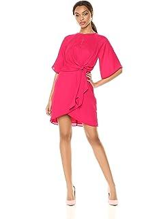 30d3ace7 Amazon.com: Adelyn Rae Women's Izabella Knit Ponte Midi Dress: Clothing