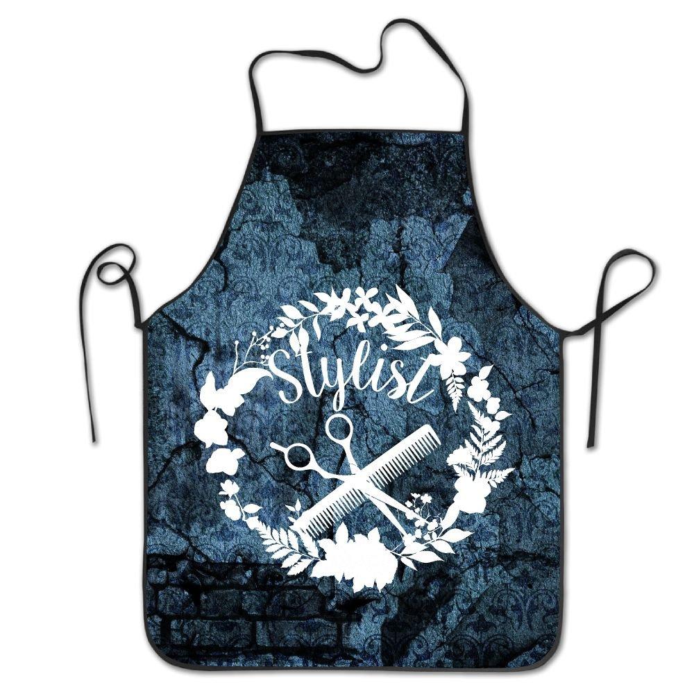 Amazon.com: Hair Stylist Bib Apron Adult Women Unisex Durable Comfortable  Washable For Cooking Baking Kitchen Restaurant: Home & Kitchen
