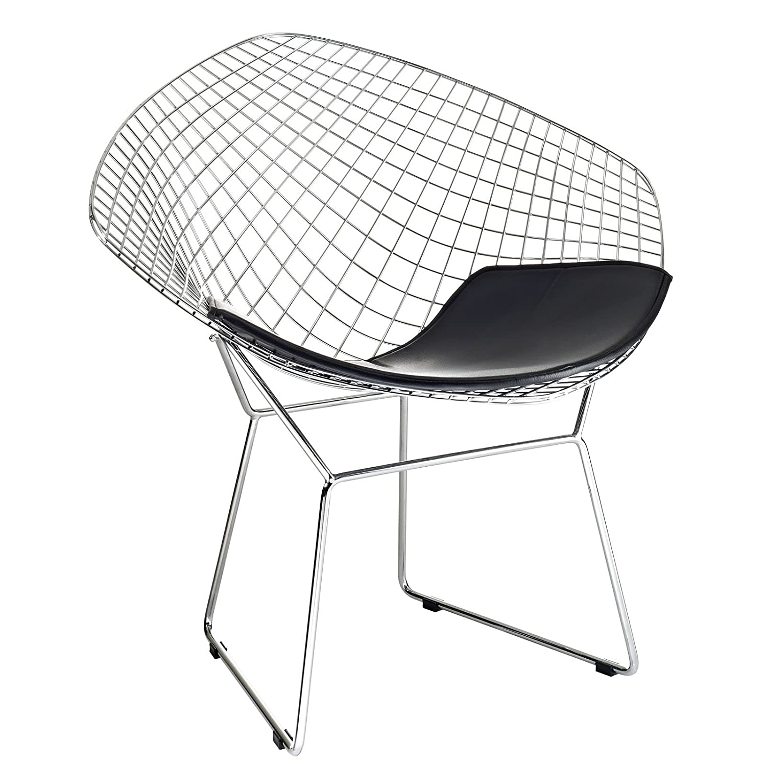 Bertoia diamond chair black - Bertoia Diamond Chair Black 5