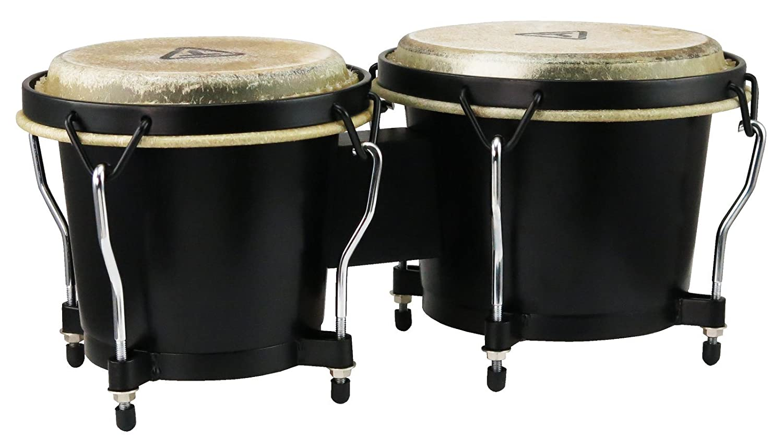 Tycoon Percussion TB-8BBK 6 & 7 Ritmo Bongos Black