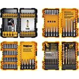 DEWALT Screwdriver Bit Set / Drill Bit Set, 100-Piece (DWA2FTS100),Black/Grey/Yellow Screwdriving and Drilling Set, 100…