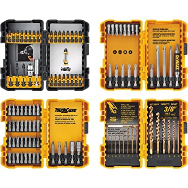 DEWALT DWA2FTS100 Screwdriving and Drilling Set, 100 Piece