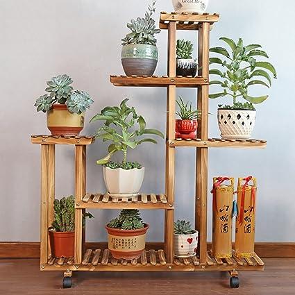 Etagere Pour Plante Sol Exterieur En Plein Air Balcon Fleur Supports