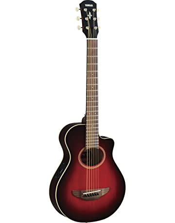 Yamaha APXT2 3/4-Size Acoustic-Electric Guitar with Gig Bag, Dark