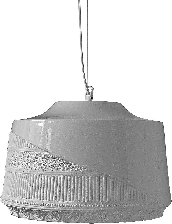 Karman Mademoiselle lámpara techo E27, 105 W, blanco, 38 x 25 cm: Amazon.es: Iluminación
