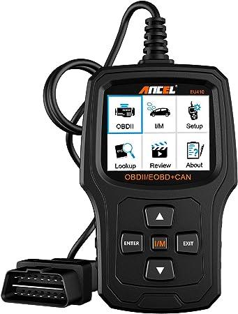 Ancel Eu410 Obd Ii Automotive Fehlerausleser Zum Fahrzeug Prüfen Motor Licht Diagnosegerät Auto Obd2 Scanner Mit I M Bereitschaft Auto