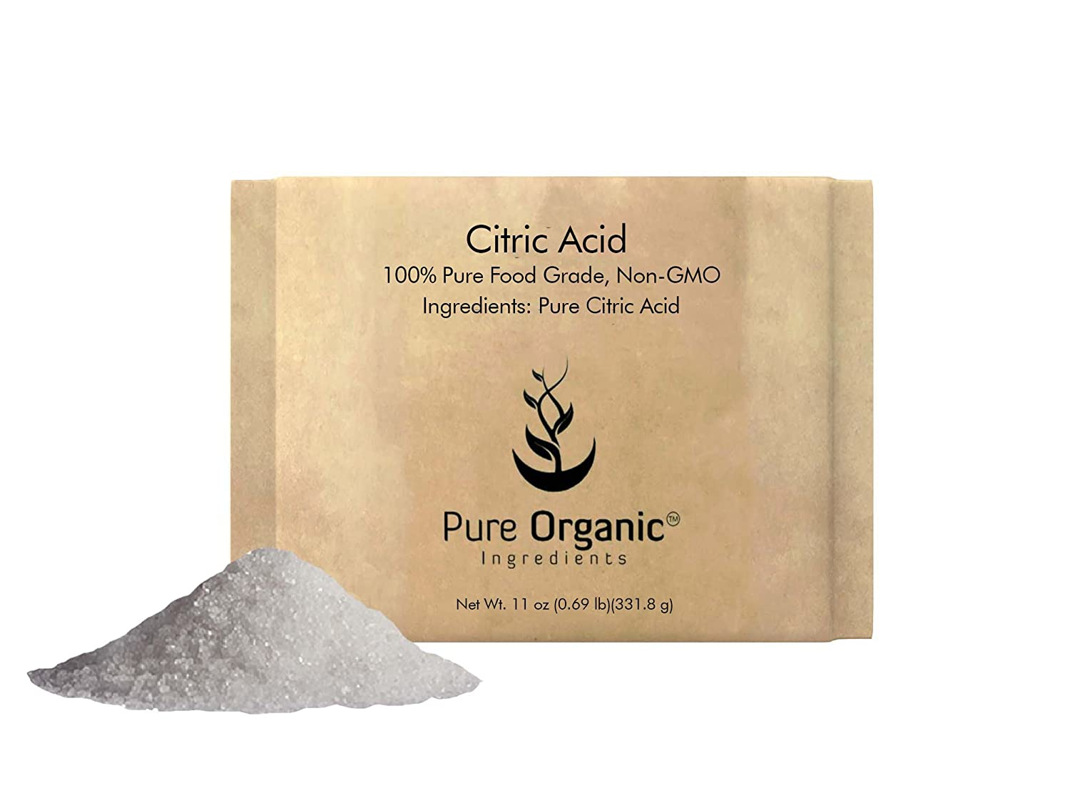 Pure Citric Acid (2 lb (32 oz) 100% Food Grade Powder (Also Available in 4 oz, 11 oz, 1 lb, 55 lb) Pure Organic Ingredients