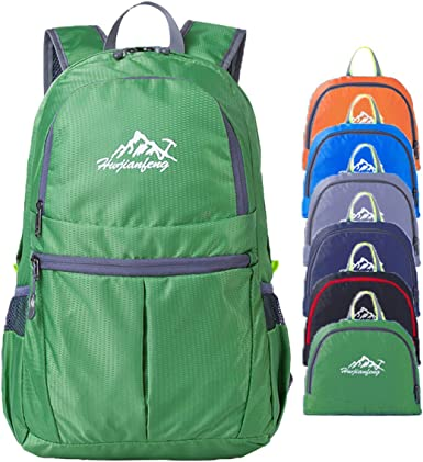 Avenmax Unisex Outdoor Travel Hiking Backpack Ultralight Packable Water Resistant Daypack for Camping