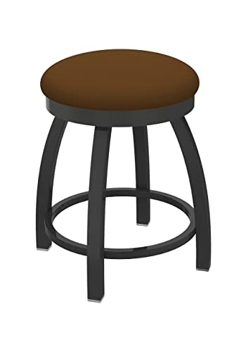 Holland Bar Stool Co. Misha Swivel Vanity Stool, 18 Seat Height, Canter Thatch