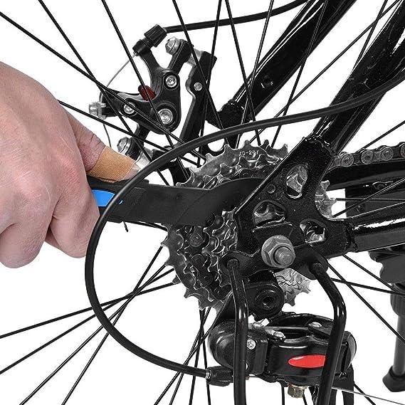 VGBEY Cepillo Limpiador de Dientes de Bicicleta, Herramientas de ...
