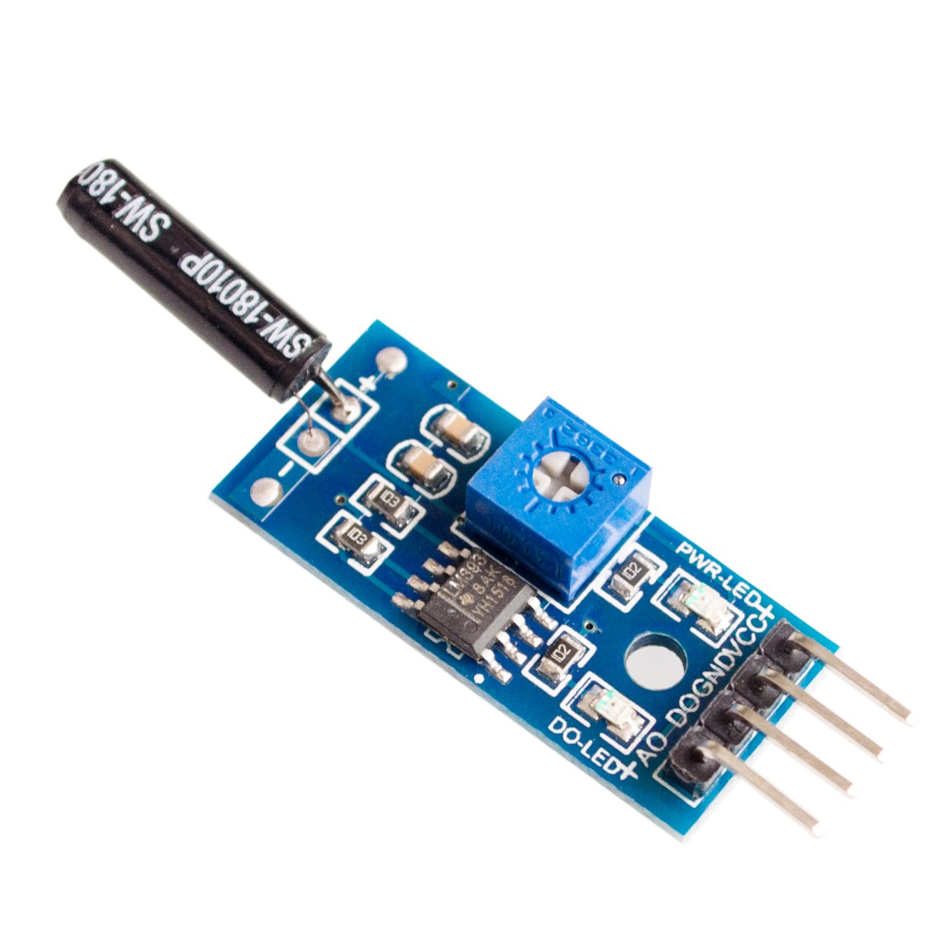 Normalmente Abierto Shock Sensor Módulo para Arduino módulo ...