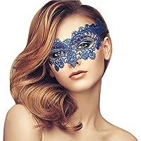Metalen Masker voor Vrouwen Maskerade Masker Glanzend Metaal Strass voor Feest/Bal Prom/Bruiloft