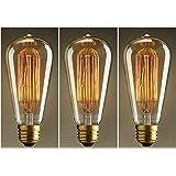 Ampoule Edison vintage, design cage d'écureuil pour éclairage nostalgique et antique, E27 40.00 wattsW 230.00 voltsV