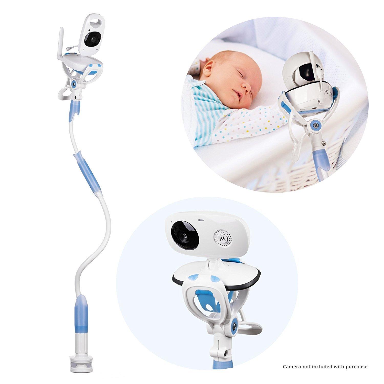 Bébé moniteur titulaire, FlexxiCam de SwallTech, remplacez votre bébé moniteur étagère ou le support de moniteur de bébé, compatible avec la plupart des moniteurs de bébé, babyphone