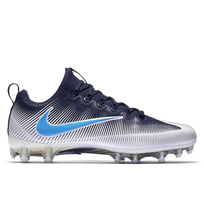 NIKE Men's Vapor Untouchable Pro Football Cleats (10 D(M) US, Navy Blue/White/Light Blue)