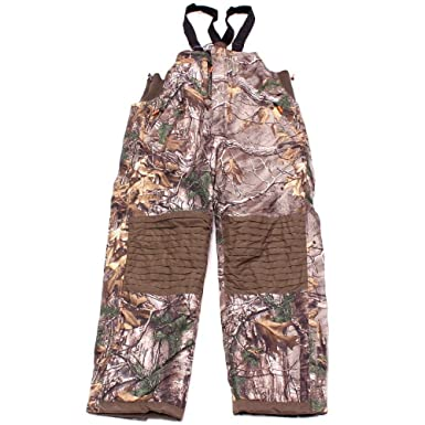 a895cea77e636 Drake Waterfowl Non-Typical Storm Bibs Sherpa Fleece Lined XTRA Camo - Large