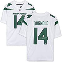 $299 Get Sam Darnold New York Jets Autographed Nike White Limited Jersey - Fanatics Authentic Certified - Autographed NFL Jerseys