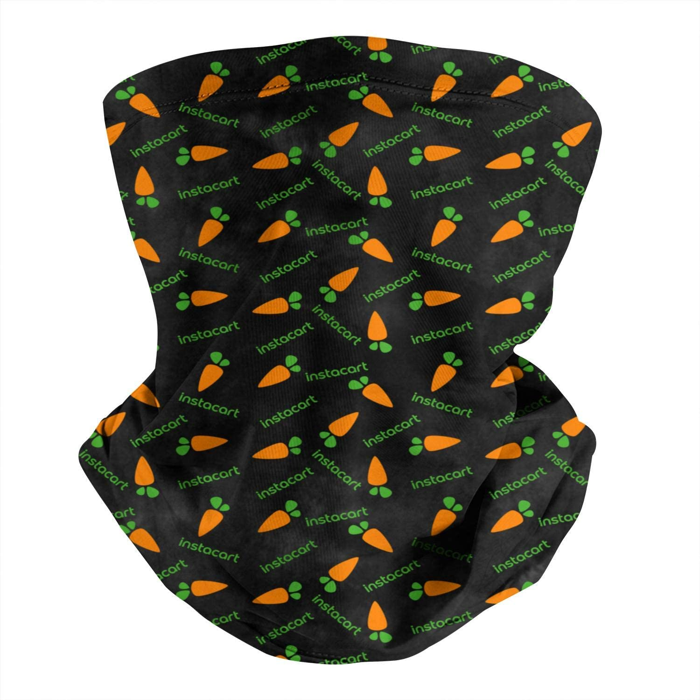 Outdoor Windproof Magic Neck Gaiter Scarf Instacart-Shopper-App-Gay-Pride-Rainbow- Headwear Balaclava Bandana Face Cover