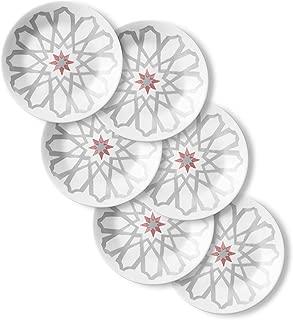 product image for Corelle Chip Resistant Appetizer Plates, 6-Piece, Amalfi Rosa