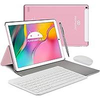 Tablet 10 Pulgadas, Android 10.0 Tablet PC, 4GB RAM y 64GB Memoria, Pantalla IPS HD, Quad-Core 1.5 GHz, WiFi, Dual SIM…