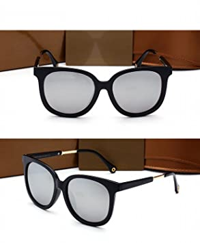 Grandes Gafas de Sol Polarizadas Mujer Marco Mujer Marco Gafas de Sol de Conducción Marco Negro