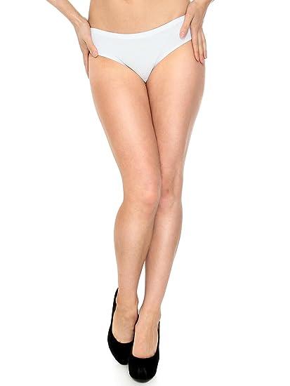 238efdeff4 Simplicity Womens Seamless Second Skin Lasercut Panties