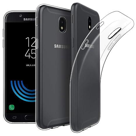 EasyAcc Hülle Case für Samsung Galaxy J5 2017, Dünn Crystal Clear Transparent Weich Handyhülle Cover Soft Premium-TPU Durchsi