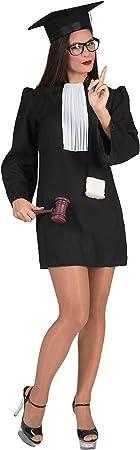Disfraz de juez mujer M: Amazon.es: Juguetes y juegos