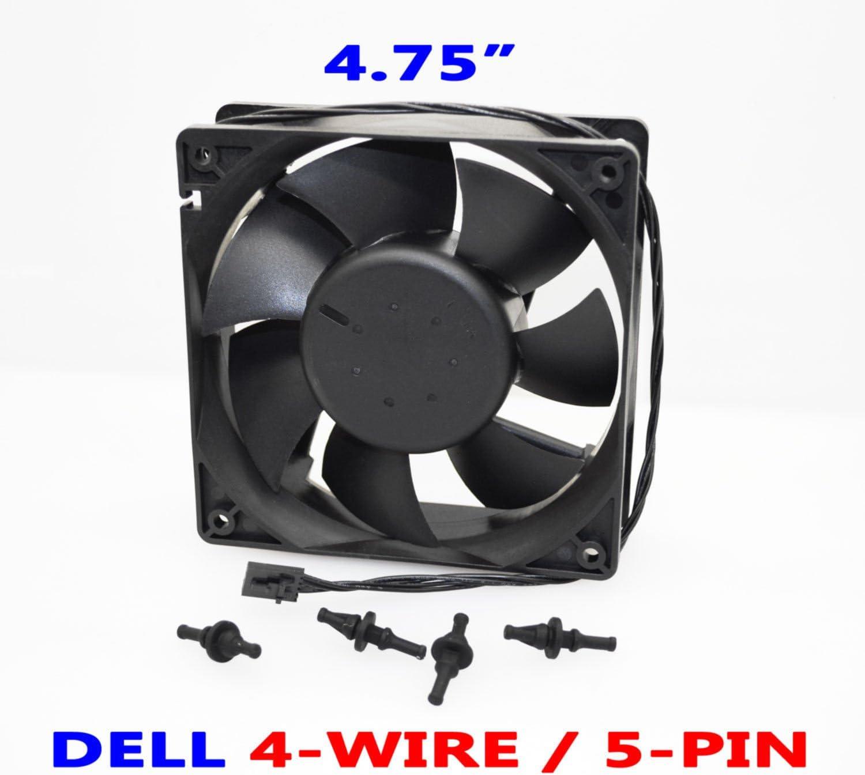 Genuine Dell Case Fan For Dimension E310, E510, E520, E521, 3100, 5150, 5100, 5000 Systems Dell Part Number; Y4574