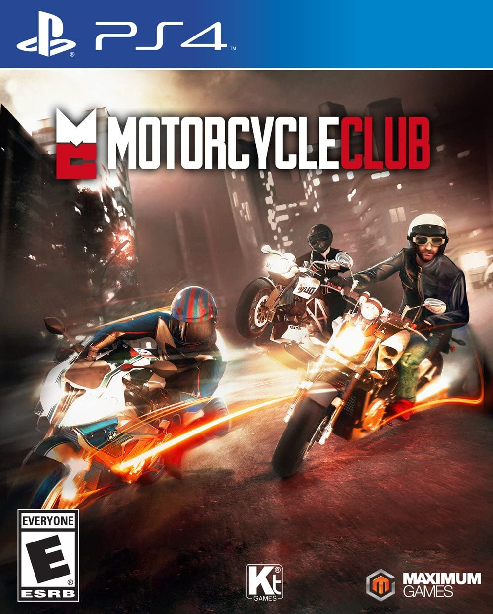 Amazon.com: Motorcycle Club - PlayStation 4: Maximum Games: Video Games