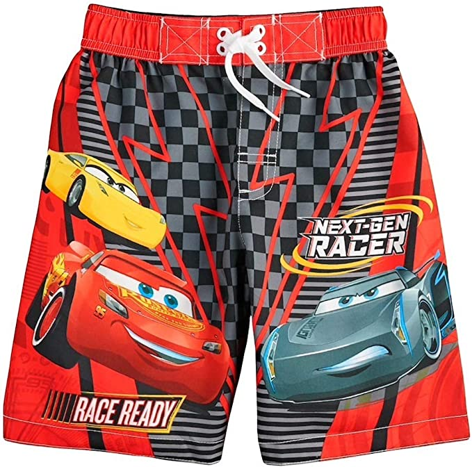 Cars Disney Pixar Boys Swim Trunks