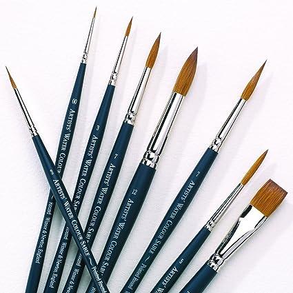 baa2f0dd7f6b Amazon.com  Winsor   Newton Professional Watercolor Sable Brush ...