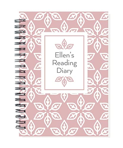 Personalized book journal your name on cover choose color record the books you read in this diary