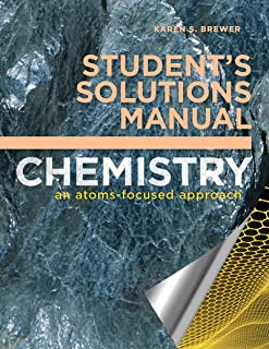 student s solutions manual for chemistry an atoms focused approach rh amazon com General Chemistry Atoms First PDF Chemistry Atoms First PDF