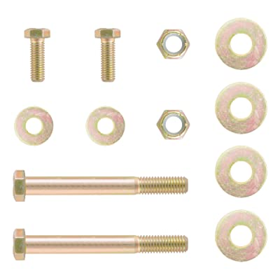 CURT 48620 Pintle Hitch Lunette Ring Hardware Kit, 4 Bolts: Automotive [5Bkhe2001466]