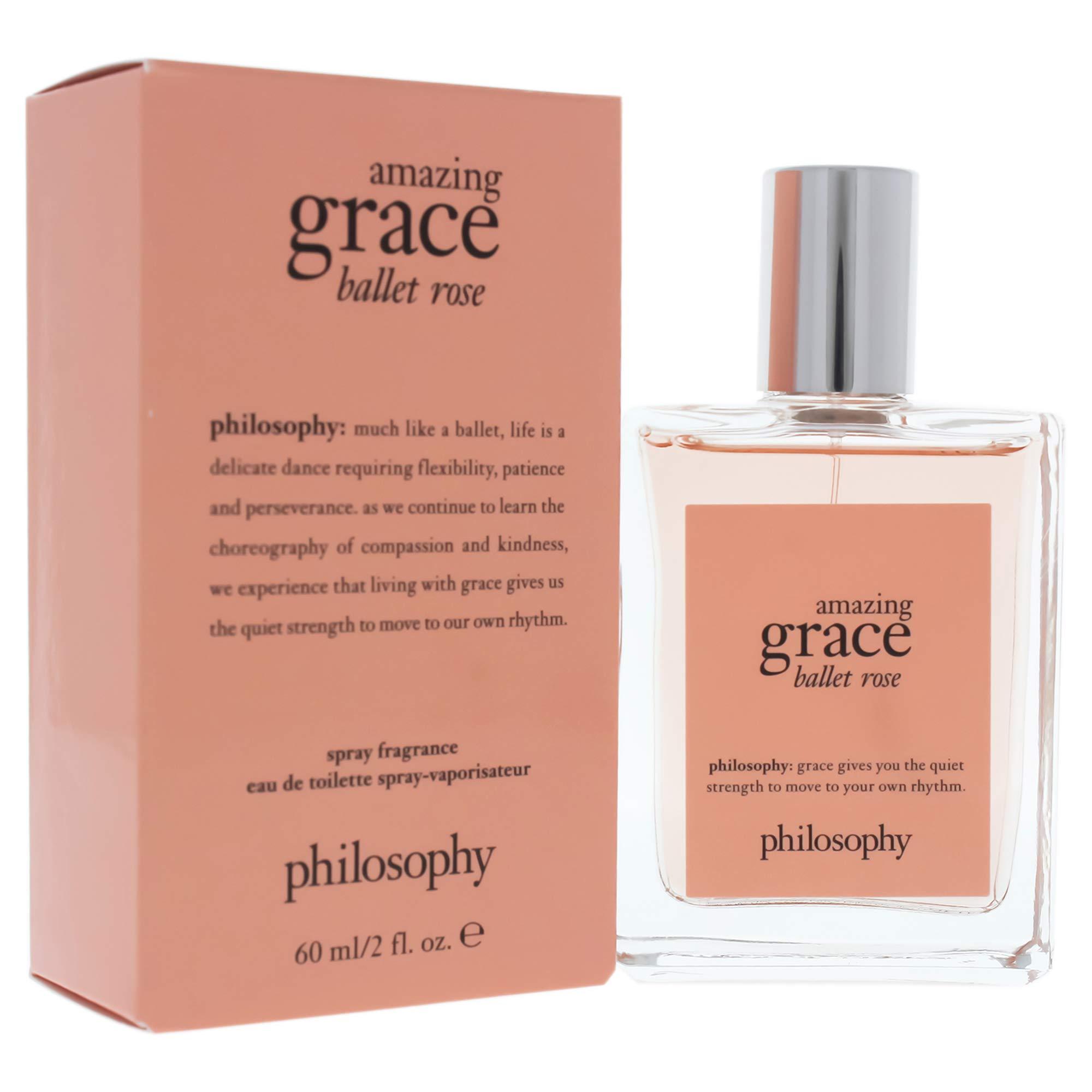 Amazing Grace Ballet Rose Eau de Toilette, 2 Fl Oz
