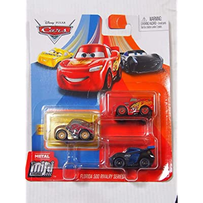 Disney Cars Mini Figure, 3 Pack: Toys & Games