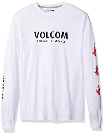 1a424f177c29 Volcom Men's The Stranger Long Sleeve Tee: Amazon.in: Clothing & Accessories