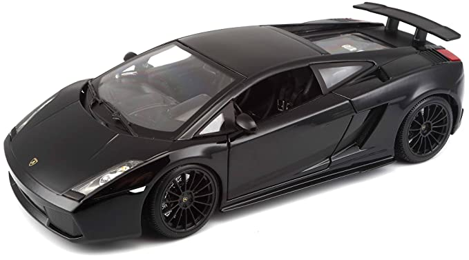 Maisto 118 Scale 2007 Lamborghini Gallardo Superleggera Diecast Vehicle  (Colors May Vary)